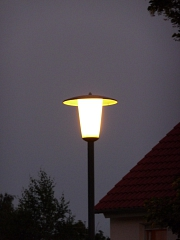 Laterne, Lampe